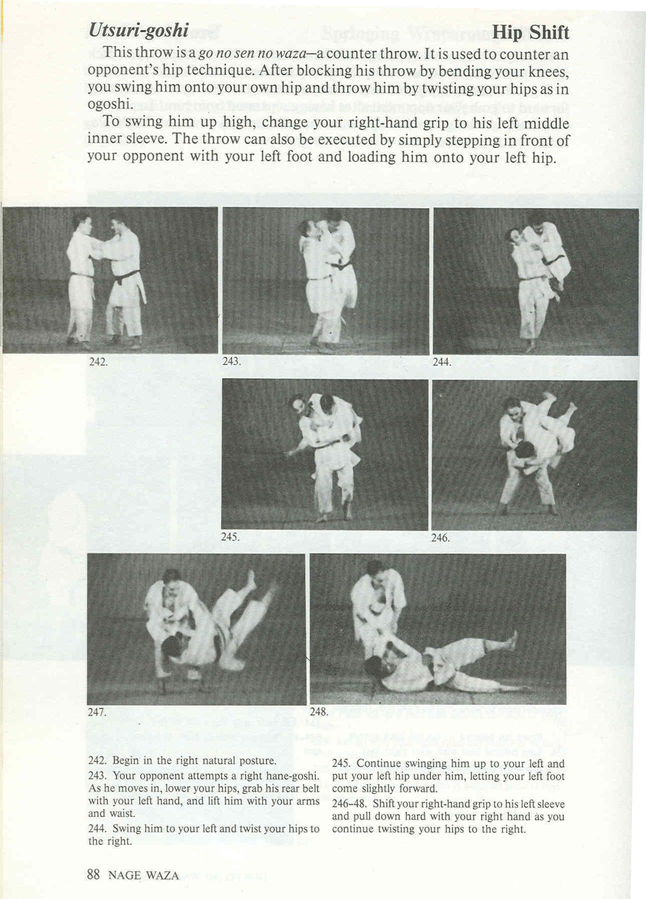 nage waza judo
